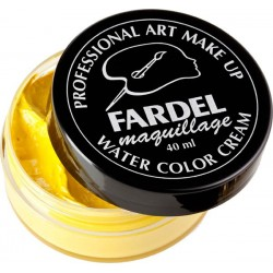 Pot de Maquillage Fardel 40ml Jaune Vif