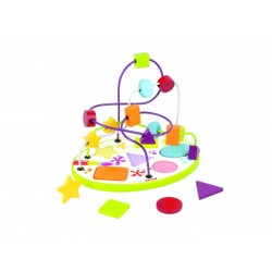 Circuit Looping Puzzle  Formes  et  Couleurs - Janod