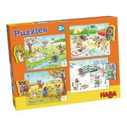 Puzzles Les Saisons - Haba
