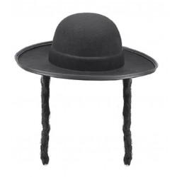 Chapeau de Rabbin avec Jacobines