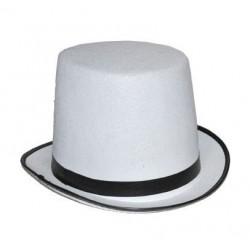 Chapeau Haute Forme Blanc