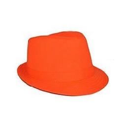 Chapeau Borsalino Fluo Orange