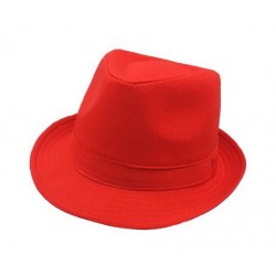 Chapeau Borsalino Fluo Rouge
