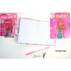 Carnet Intime Miss Thea avec Stylo