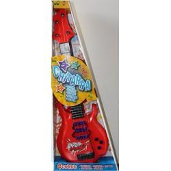 Guitare Electrique en Plastique 4 Cordes Métal