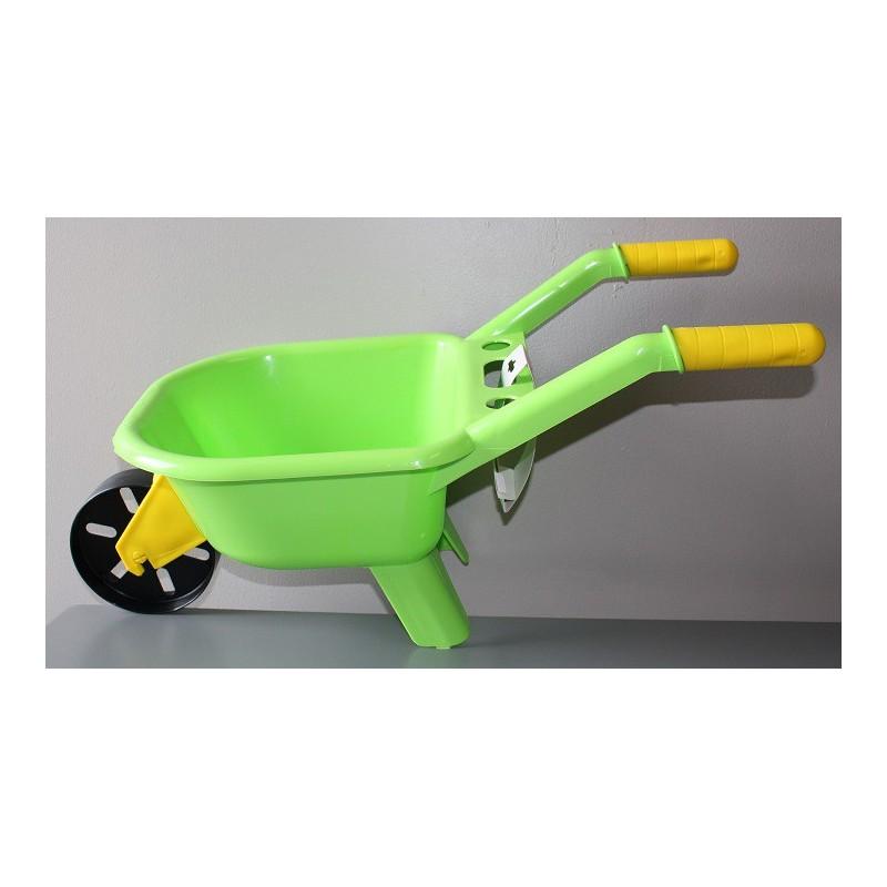 Brouette enfant plastique coti jouets sp cialiste en jouets pour les arbres de no l - Brouette de jardin plastique ...