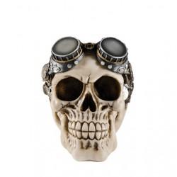Crâne Steampunk en Résine 14cm