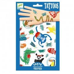 Tatouages Animaux - Djeco