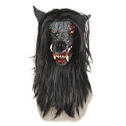 Masque de Loup Garou en Latex