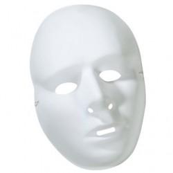 Masque Blanc Homme à Décorer