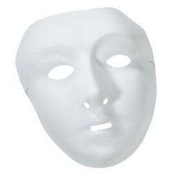 Masque Blanc Femme à Décorer