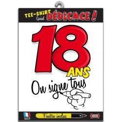 Tee Shirt On Signe Tous 18 Ans