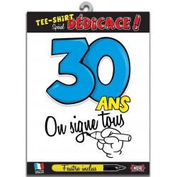 Tee Shirt On Signe Tous 30 Ans