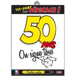 Tee Shirt On Signe Tous 50 Ans