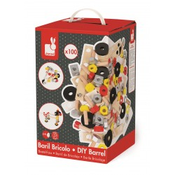 Baril Redmaster 100 Pieces - Janod