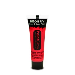 Maquillage Fluo UV 10ml Rouge - PaintGlow
