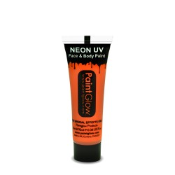 Maquillage Fluo UV 10ml Orange - PaintGlow