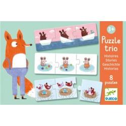 Puzzle Trio Histoires - Djeco