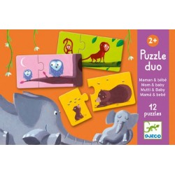 Puzzle Duo Les Chiffres - Djeco