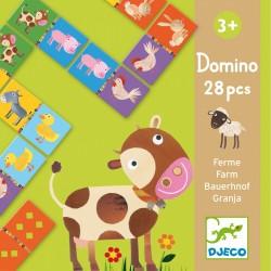 Domino La Ferme - Djeco