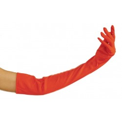 Gants Long Rouges 60 cm
