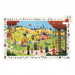 Puzzle D'Observation Les Contes 54 pièces - Djeco