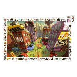Puzzle D'Observation Ville du Futur 200 pièces - Djeco