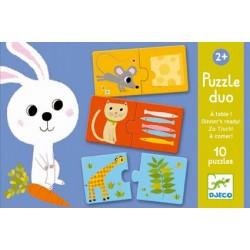 Puzzle D'Association A Table - Djeco