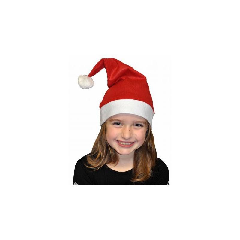 Bonnet de Noël en Feutrine Enfant