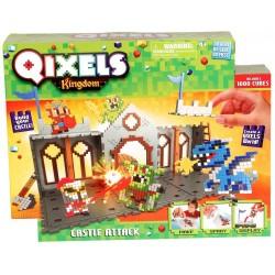 Création Qixels Royaume Le Chateau - Kanai Kids