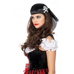 Chapeau Bandana de Pirate Noir