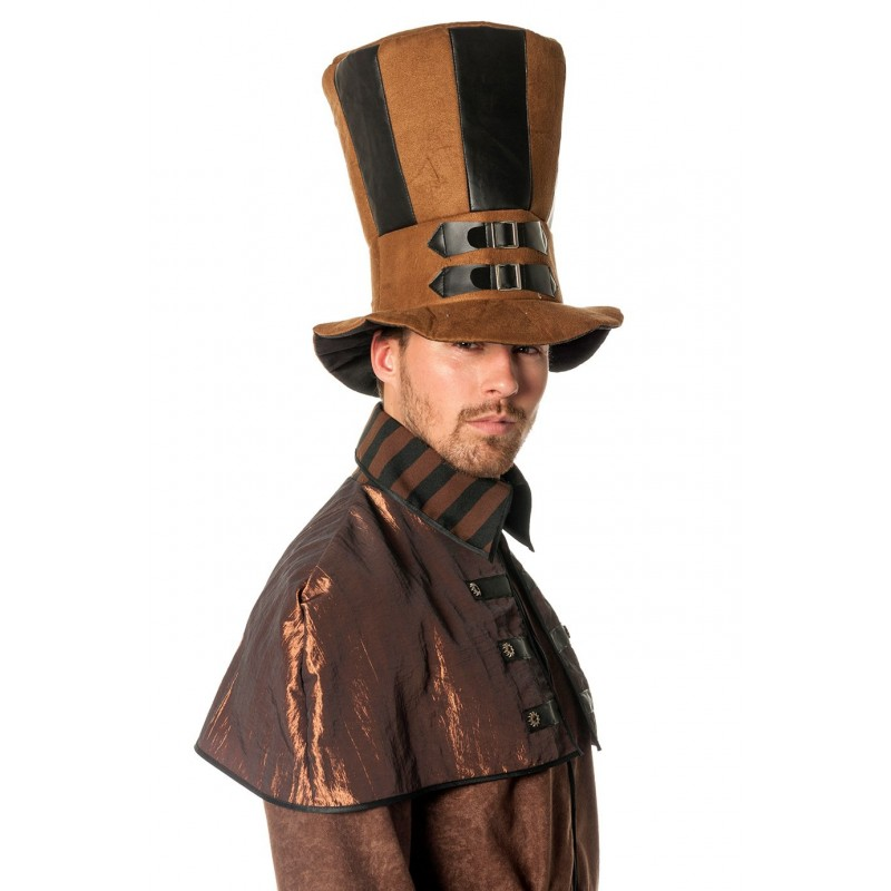 most popular best sell shopping Chapeau Haut de Forme Steampunk en Tissu