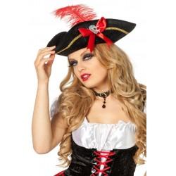 Tricorne de Pirate Femme