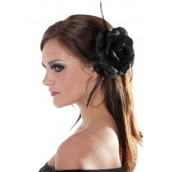 Rose Noir Pour Cheveux