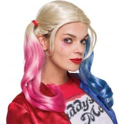Perruque Harley Quinn - Suicide Squad