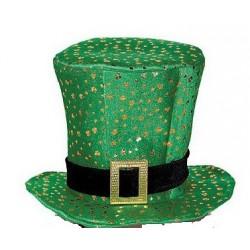 Chapeau Haut de Forme Mousse Saint Patrick