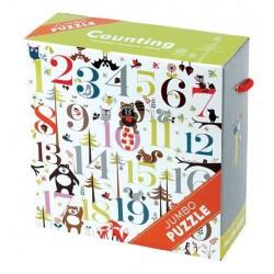 Puzzle Je compte 25 Pièces - Mudpuppy