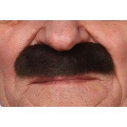 Moustache Officier Brun