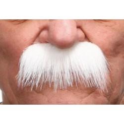 Moustache Brosse Blanc
