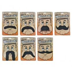 Moustache Assortie Auto-adhésive