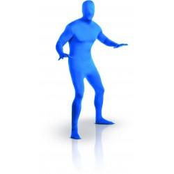 Déguisement Seconde Peau Bleu Adulte - Taille L