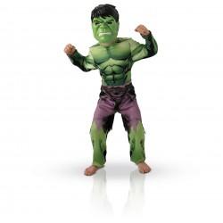 Déguisement Hulk Rembouré Avengers Assemble - Taille 3-4 ans