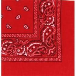 Bandana Cachemire Rouge
