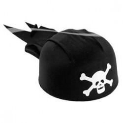 Chapeau Bandana de Pirate Noir Enfant