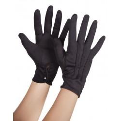 Gants Noir Avec Bouton Pression Taille XL