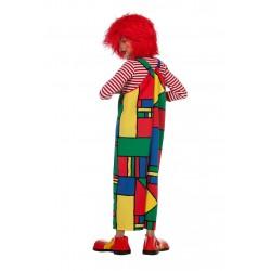 Déguisement Salopette de Clown Enfant