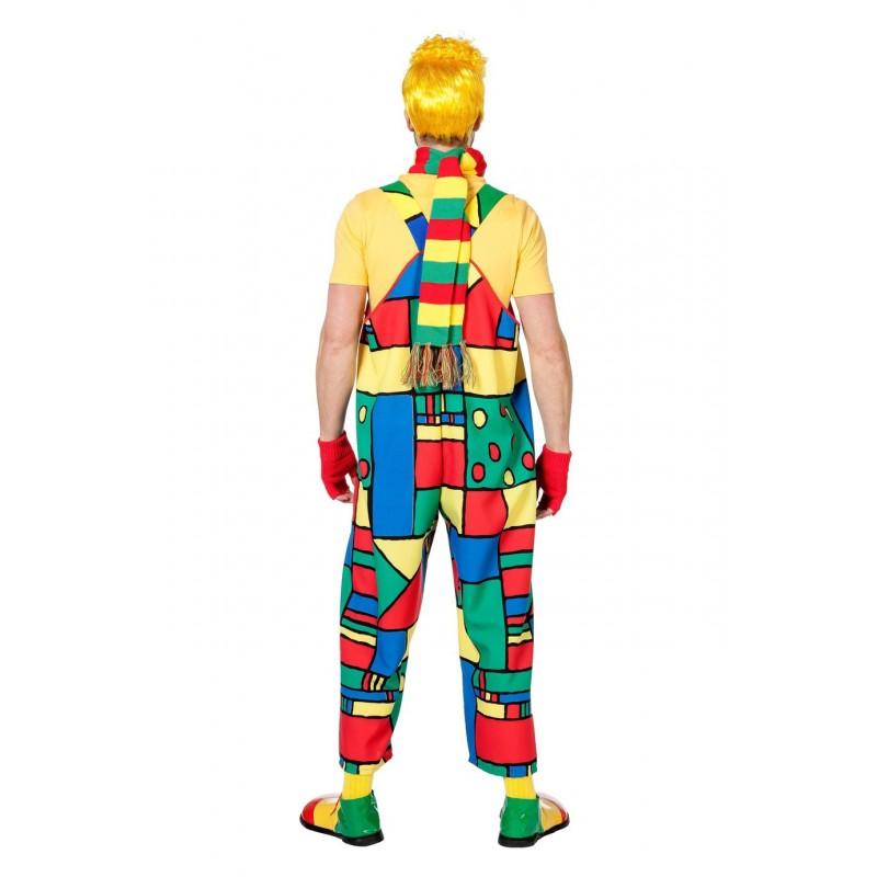 Déguisement Salopette de Clown Homme