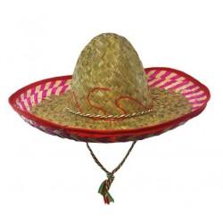 Chapeau Mexicain en Paille 40cm