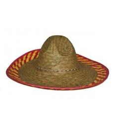 Chapeau Mexicain en Paille 46cm