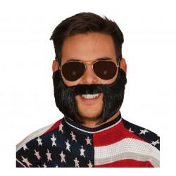 Moustache Avec Favoris